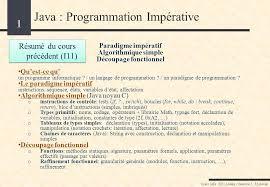 dispense java java programmation impérative ppt télécharger