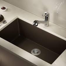 Kitchen Sinks And Taps Direct by 848 Mocha Trugranite Single Bowl Kitchen Sink Undermount Single