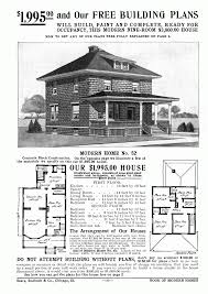 architectures foursquare house plans an advertisement for a