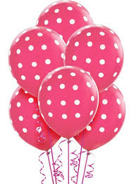 Party City Balloons For Baby Shower - latex bright pink polka dot balloons party city madelyn u0027s