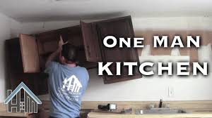How To Install Kitchen Cabinets Yourself Install Replace Kitchen Cabinets By Yourself Easy Home Mender