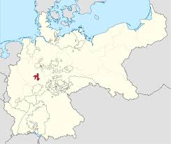Printable Map Of Germany by Principality Of Waldeck And Pyrmont Wikipedia