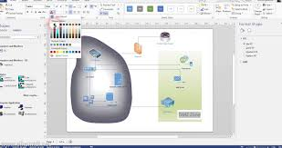 Home Floor Plan Visio by Creating Network Diagram Using Visio 2013 Youtube