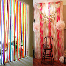 crepe paper streamers bulk buy crepe paper streamers and get free shipping on aliexpress