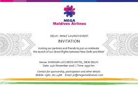 mega maldives to organize india launch event at new delhi on the