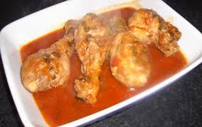 cuisiner cuisse de poulet recette cuisses de poulet marinées à la sauce tomate 750g