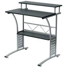 Staples Small Computer Desk Metal And Glass Desk Bethebridge Co
