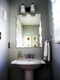 bathroom contemporary half bathroom ideas modern double sink