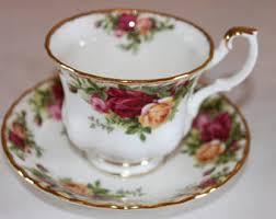 country roses tea set royal albert tea cup treasure chest series bone china