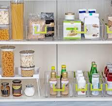 kitchen food storage pantry cabinet plastic kitchen pantry cabinet set of 2 refrigerator or freezer food storage bins organizer for fruit food