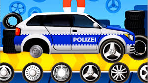 dream cars factory police car best ios game app for kids youtube