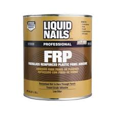 liquid nails 1 gal fiberglass reinforced plastic panel adhesive