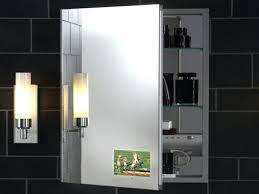 medicine cabinet with electrical outlet stunning robern medicine cabinet electrical outlet savae org picture
