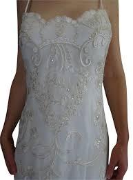 mcclintock wedding dresses mcclintock ivory beaded formal wedding dress size 4