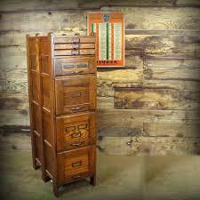 Antique Oak File Cabinet Wooden Filing Cabinet Uk
