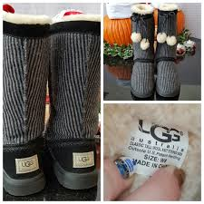 s knit boots size 12 ugg ugg wool knit striped boots from treasures from
