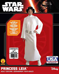 Princess Leia Halloween Costume Amazon Star Wars Princess Leia Deluxe Costume Clothing