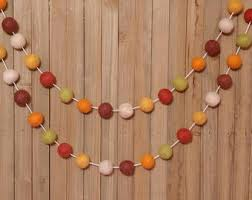 thanksgiving garland etsy