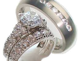 wedding rings sets for his and wedding rings his n hers wedding rings astounding his