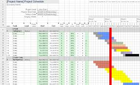 Project Management Gantt Chart Excel Template Gantt Chart Excel Template Cyberuse