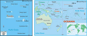 map of tuvalu tuvalu map and information map of tuvalu facts figures and