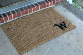Personalized Outdoor Rugs New Monogram Outdoor Rug Startupinpa