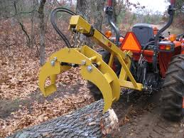compact tractor lifting crane tractor accessories pinterest