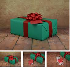 classic collection green with gift wrap kit
