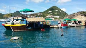 Tiki Hut On Water Vacation The Floating Tiki Hut In St Maarten Picture Of Tiki Hut Snorkel