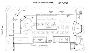 Floor Plan For Wedding Reception by Great Outdoors Restaurant About