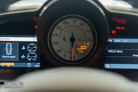 ferrari speedometer ferrari 458 4 5 italia 2dr coutts automobiles