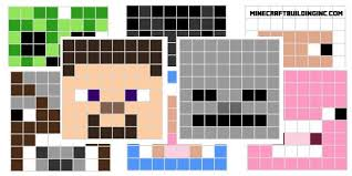 minecraft building templates minecraft character pixel templates minecraft building inc