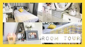 yellow and grey room room tour mustard yellow grey black white ohhitsonlyalice