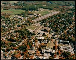 Bridgewater State University Map by Aerial Photo Of Bridgewater State College Campus Digital