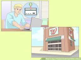 prepaid credit card to build credit 3 ways to buy a prepaid credit card with a check wikihow