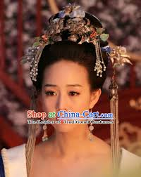 tang dynasty hair accessorise fascinator headpieces