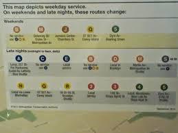 Map Nyc Subway Native New Yorker Blog Nyc Subway Map And Transit Fare