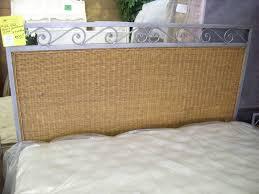 Wicker Headboards Twin by Furniture Gorgeous Ordinary Bed Design White Wicker Headboard
