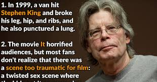 Stephen King Meme - 40 spooky facts about stephen king