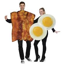 couples costumes bacon and eggs couples costumes one size includes 2