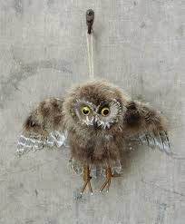 Owl Wall Decor by Large Feathered Owl Wall Decor Owl Decal Decoration Nova68
