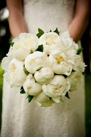 Peonies Bouquet White Peony Bouquets