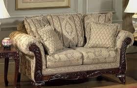 Fabric Sofa Set Clarissa Carmel Fabric Traditional 2pc Sofa Set W Options