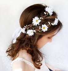 flower decoration for hair flower crowns and pins ideas for hair decoration