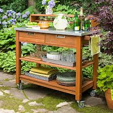 Potting Bench Ikea Best 25 Outdoor Serving Cart Ideas On Pinterest Outdoor Bar