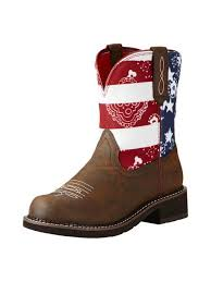 ariat womens cowboy boots size 12 ariat womens patriot brown fatbaby heritage boots 10020076 jc