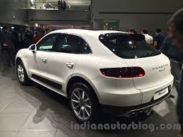porsche macan 2016 white porsche macan plug in hybrid under development