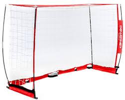 amazon com powernet futsal soccer goal 3m x 2m portable bow