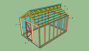 Shed Greenhouse Plans Shed Plans 12x20 Free Design
