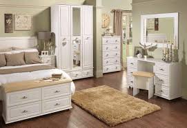 dark wood bedroom furniture white ceramic floor oak wood storage